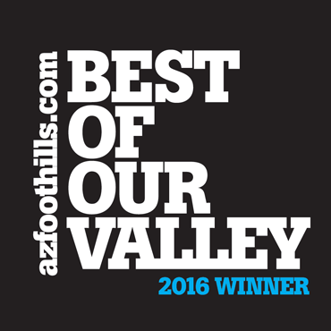 Best Local Jeweler 2016 by AZFoothills.com
