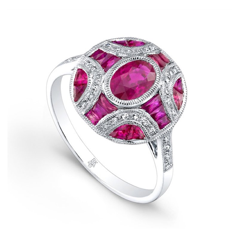 July Birthstone: Ruby Red