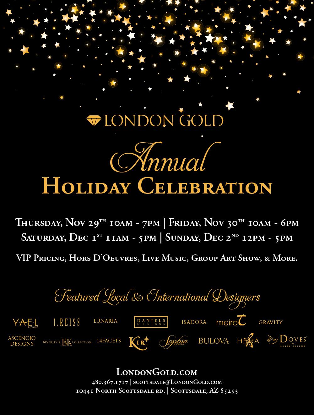 Holiday Celebration Designer Show Scottsdale