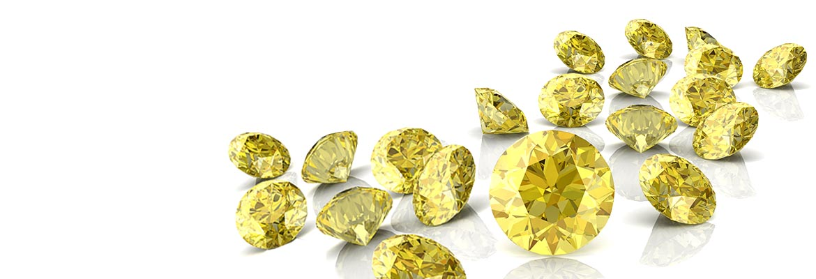 London Gold Colored Diamonds