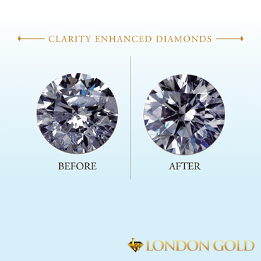 The Result Is An Enhanced Beautiful Diamond Many People Turn To Clarity Diamonds As A Great Way Ger Stone For Better Price