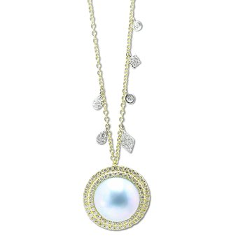MeiraT Pearl Necklace