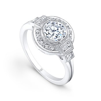 Beverley K Vintage Style Engagement Ring