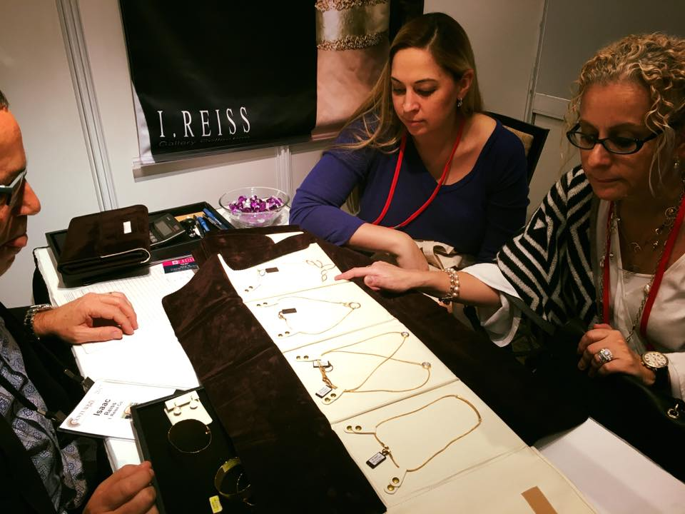 Centurion Jewelry Show - Selecting I.Reiss Jewelry for London Gold