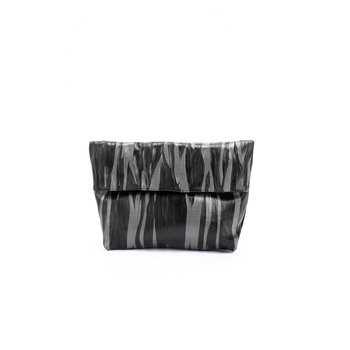 Daniella Lehavi Tutsi Lunchbag in Black and Silver