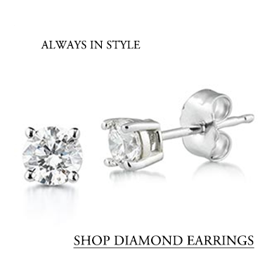 Diamond Studs, Diamond Earrings
