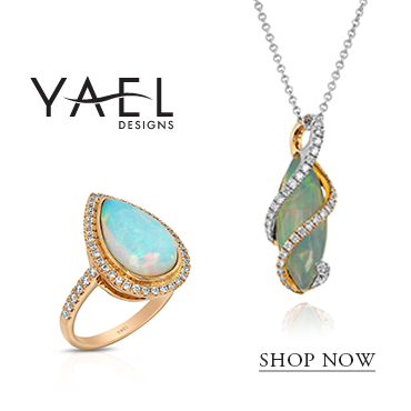 Fine Gemstone Jewelry by Yael Designs | Opal Necklace | Opal Ring
