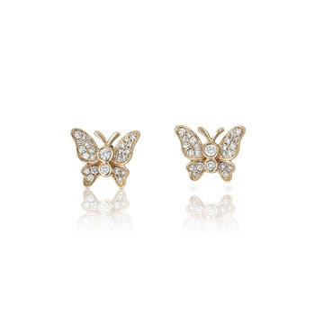 Yael Designs Butterfly Earrings